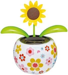 IDEENWELT Solar-Gute-Laune-Figuren Sonnenblume