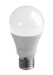 Duracell LED-Leuchtmittel, Birne, 11 W, E27, Warmweiß