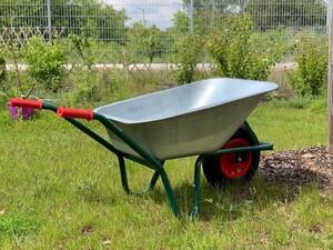 Powertec Garden Garten- und Bauschubkarre