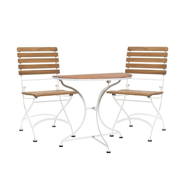 Balkon-Klapptisch mit 2 Stühlen