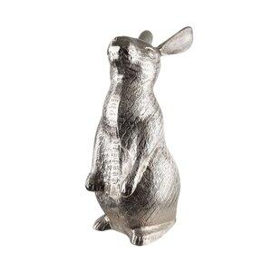 Deko Hase stehend H 49 cm