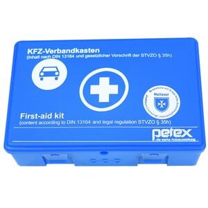 KFZ Verbandskasten nach DIN 13164 aus Kunststoff in blau