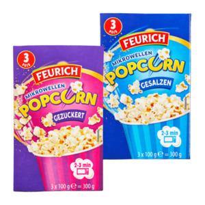 FEURICH     Mikrowellen Popcorn