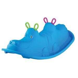 Kinder-Wippe Hippo Blau