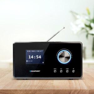 Internetradio Blaupunkt IRD 30 C WH, schwarz