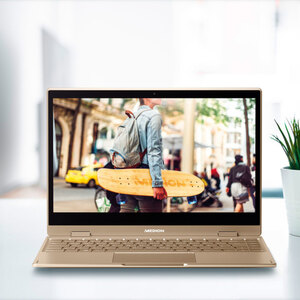 Convertible Notebook MEDION AKOYA E4272, gold