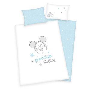 Disney Baby Bettwäsche, ca. 100 x 135cm - Mickey Mouse