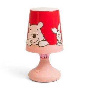 Disney Kinder Lichter - RGB Tischlampe, Winnie the Pooh - rosa