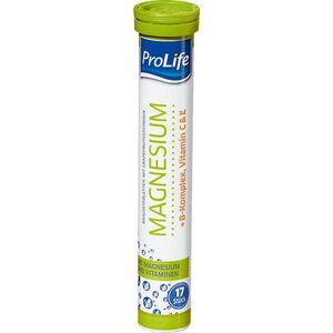 ProLife Magnesium Brausetabletten, 102g