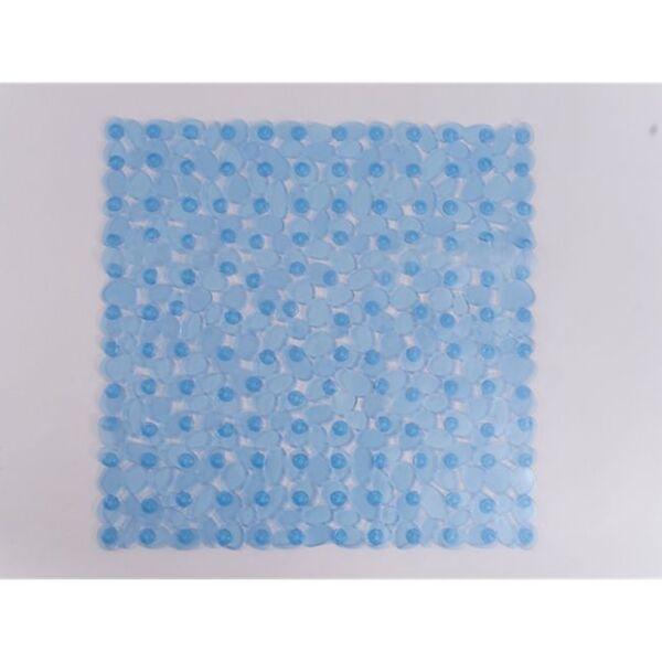 Dekor Dusch- oder Wanneneinlage in verschiedenen Farben und Größen   - Dekor Duscheinlage, ca. 53 x 53 cm - blau transparent