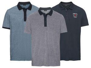 LIVERGY® Poloshirt Herren, Slim Fit, in Pikee-Qualität, mit Seitenschlitz, aus Baumwolle