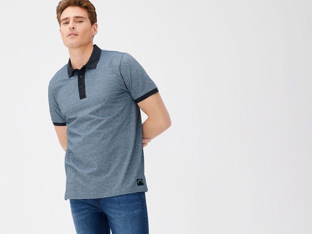 Bild 4 von LIVERGY® Poloshirt Herren, Slim Fit, in Pikee-Qualität, mit Seitenschlitz, aus Baumwolle