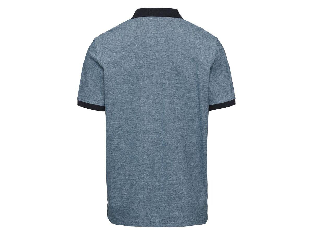 Bild 5 von LIVERGY® Poloshirt Herren, Slim Fit, in Pikee-Qualität, mit Seitenschlitz, aus Baumwolle
