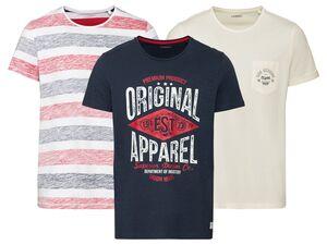 LIVERGY® T-Shirt Herren, aus Baumwolle