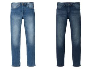 LIVERGY® Jeans Herren, Slim Fit, mit Baumwolle, mit Elasthan