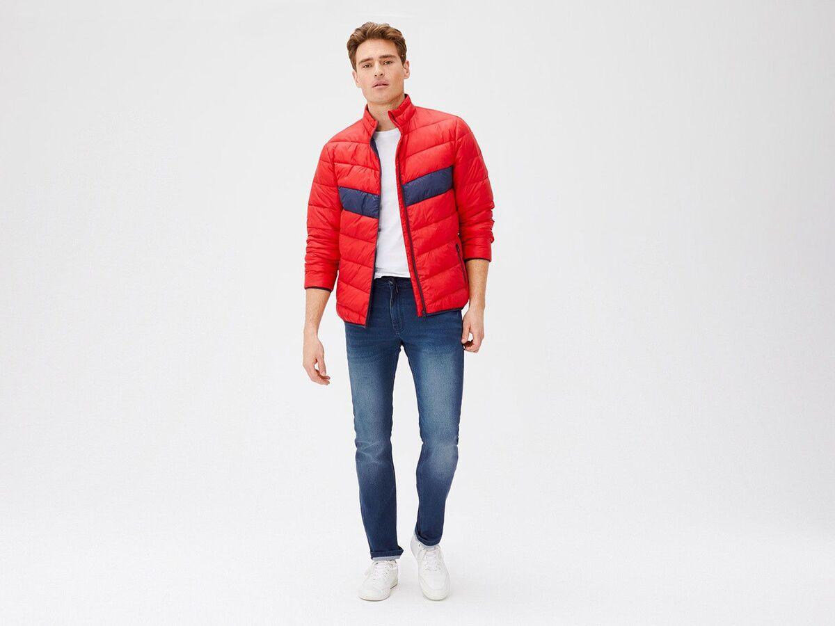 Bild 3 von LIVERGY® Sweathose Herren, in Jeans-Optik, mit Kordelzug, mit Baumwolle