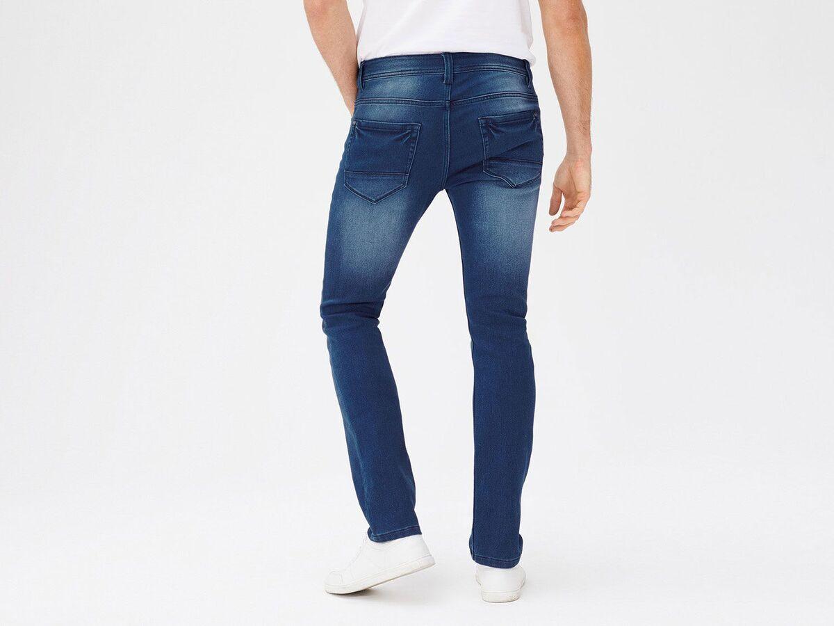Bild 5 von LIVERGY® Sweathose Herren, in Jeans-Optik, mit Kordelzug, mit Baumwolle