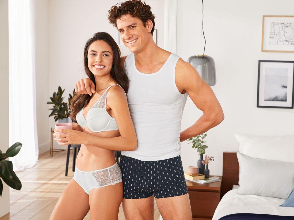 Bild 3 von LIVERGY® Achselhemd Herren, mit Baumwolle, mit Elasthan