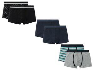LIVERGY® Boxershorts Herren, 2 Stück, mit Baumwolle, mit Elasthan