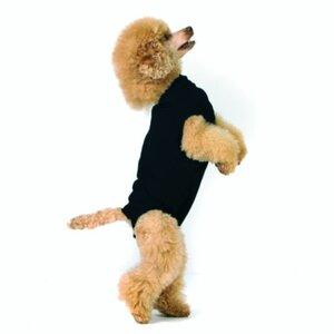 Hundebody Recovery Suit schwarz XXXS