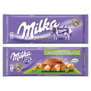 Milka Großtafel Schokolade