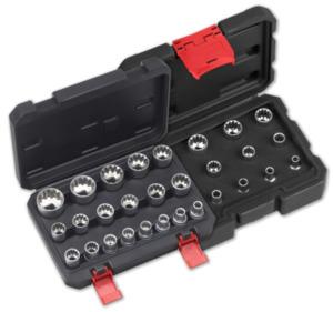 MEISTERKRAFT Gear-Lock-Steckschlüsseleinsätze