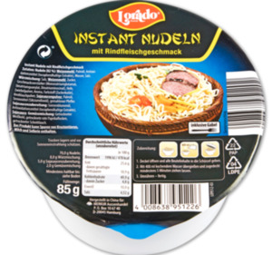 LORADO Instant Nudeln