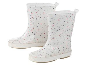 LUPILU® Regenstiefel Mädchen, mit Profil-Laufsohle, Einlegesohle, wasserdicht, UV-beständig