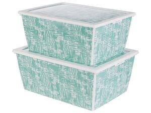CASSETTI® Aufbewahrungsboxenset, 2-teilig