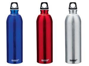 SIGG Trinkflasche, für Kohlensäure geeignet, auslaufsicher, BPA Frei, aus Aluminium