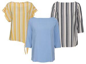 ESMARA® Shirt Damen, mit Viskose, mit Elasthan