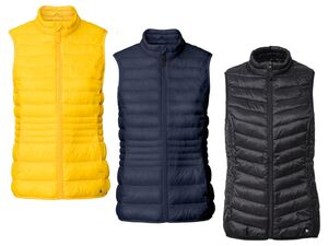 ESMARA® Weste Damen, mit Stehkragen, Eingrifftaschen, wasser- und windabweisend
