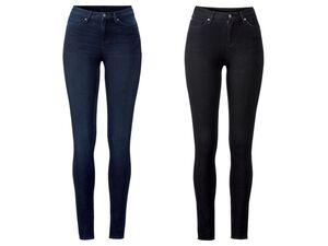 ESMARA® Jeans Damen, extra schmal geschnitten, elastisch, mit Baumwolle und Elasthan