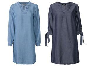 ESMARA® Kleid Damen, aus Lyocell