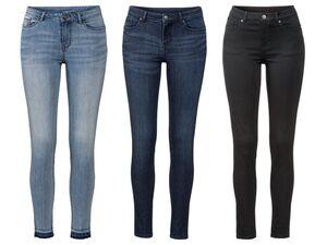 ESMARA® Jeans Damen, Super Skinny Fit, mit Po-Push-up-Effekt, Knöchellänge, mit Baumwolle