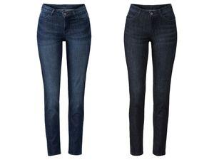ESMARA® Jeans Damen, Skinny Fit, Super-Stretch-Material, mit Baumwolle, mit Elasthan