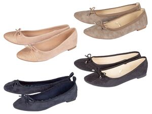 ESMARA® Ballerinas Damen, mit Zierschleife, Textilfutter, flexible Laufsohle