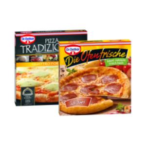 Dr. Oetker Steinofen Pizza Tradizionale, Die Ofenfrische Pizza oder Pizza Burger