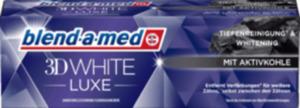 blend-a-med Zahnpasta 3D White Luxe Aktivkohle