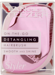 Tangle Teezer Entwirrbürste Compact Styler rosa chrome
