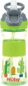 Nuby Trinkhalmbecher Tritan Reflex grün 360ml