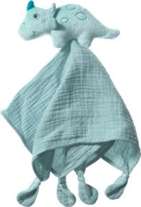 PUSBLU Schmusetuch Dino, blau