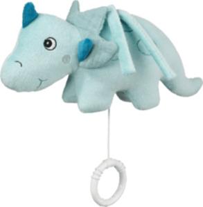 PUSBLU Spieluhr Dino, blau