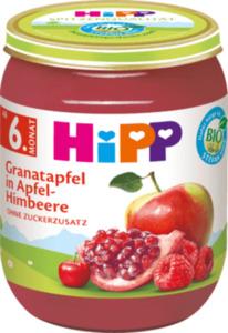 Hipp Früchte Granatapfel in Apfel-Himbeere