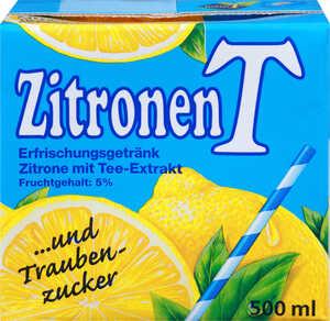 Ein ganzer Karton  MEIN T ZitronenT oder PfirsichT