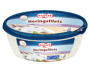 NADLER Sahne-Heringsfilets