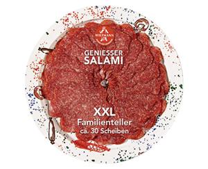 WILTMANN Genießer Salami, XXL Familienteller
