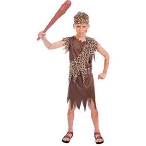 Kostüm Steinzeit-Junge