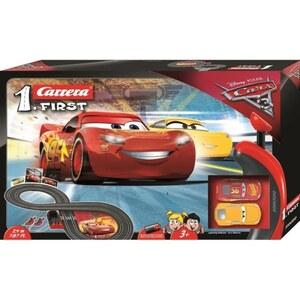 Carrera - First Carrera: Disney Cars, mit Lightning McQueen und Dinoco Cruz