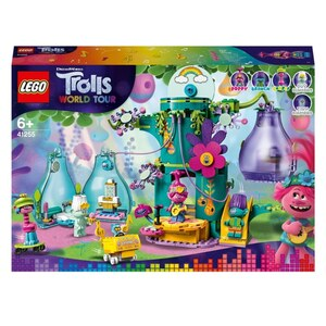 LEGO Trolls World Tour 41255 Party in Pop City